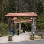 Allerheiligen wasserfall entrance, Oppenau, Schwarzwald, Germany