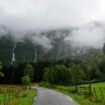 Breidfossen, Indrfjord/Arnafjord, Sogn og Fjordane