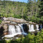 Waterfall near Breifossen