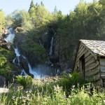 Buarfossen (Buerfossen), Jordalen, Odda, Hordaland
