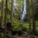 Burgbach wasserfall, Bad Rippoldsau-Schapbach / Schwarzwald, Germany
