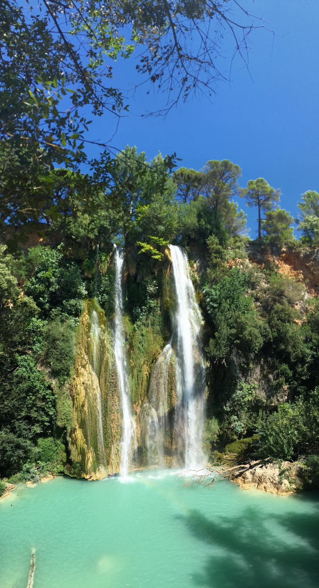 cascade de sillans european waterfalls