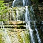 Cascades du Herisson - l'Eventail