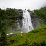 Espelandsfossen, Granvin, Hordaland