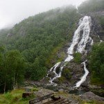 Flesåafossen, Roldal, Rogaland