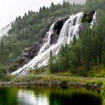 Furebergsfossen, Sunndal, Hordaland