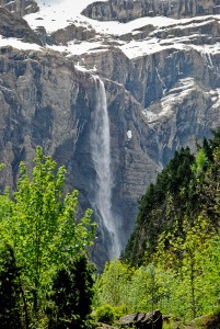 Grande cascade de Gavarnie - the highest waterfall in France
