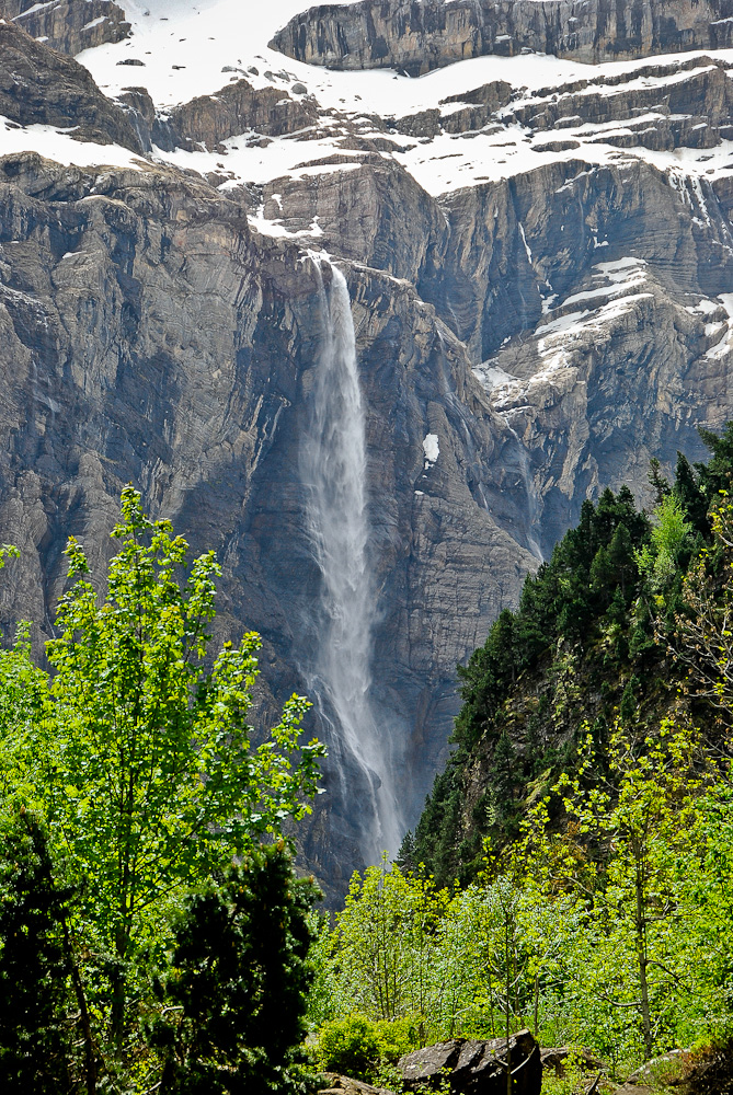 Highest waterfall France: Grande cascade de Gavarnie
