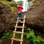 Waterfall in Iceland: Gljufurarfoss