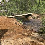 Gloppefossen-bridge