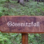 Gossnitzfall sign