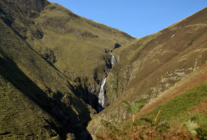 Grey Mare's Tail waterfall