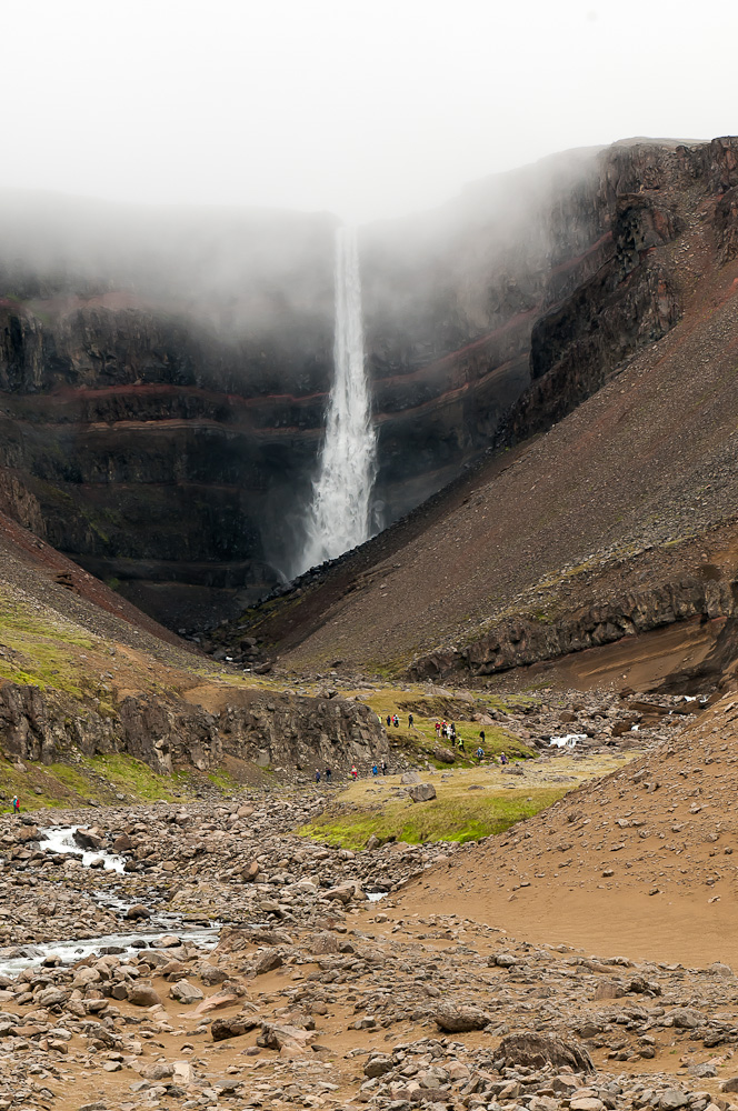 Fifth Highest waterfall Iceland: Hengifoss