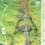 Cascades du Herisson-walking map