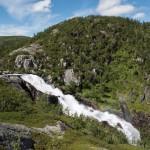Hivjufossen, Hovet, Buskerud