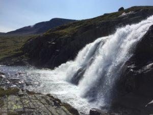 Hivjufossen - most upper part