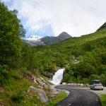 Huldrefossen-parking