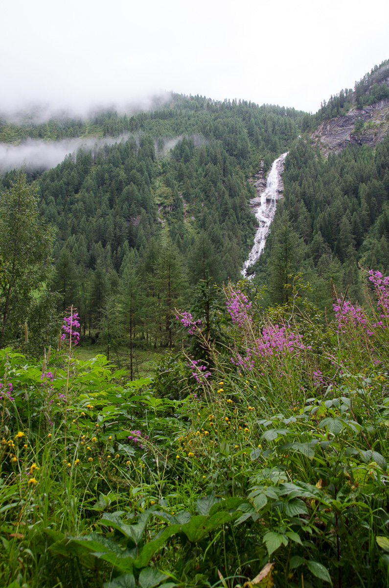Fourth Highest waterfall Austria: Kleinbachfall