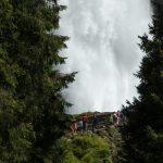 Krimmler wasserfälle, Krimml, Salzburg, Austria