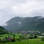 Kyrfossen, Vik, Sogn og Fjordane