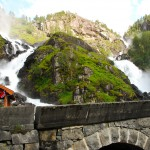 Låtefossen - most beautiful waterfall in Norway