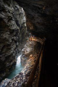 Liechtensteinklamm wasserfall