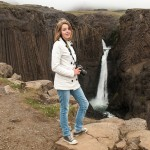 Waterfall in Iceland: Litlanes​foss