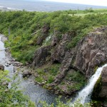 Waterfall in Iceland: Magnusarfoss