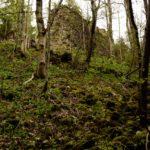 Ruins at Nesselburg wasserfall