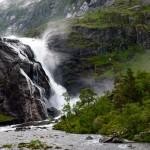 Nykkjesoyfossen, Husedalen/Kinsarvik, Hordaland