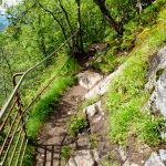 Ovstebrufossen-path