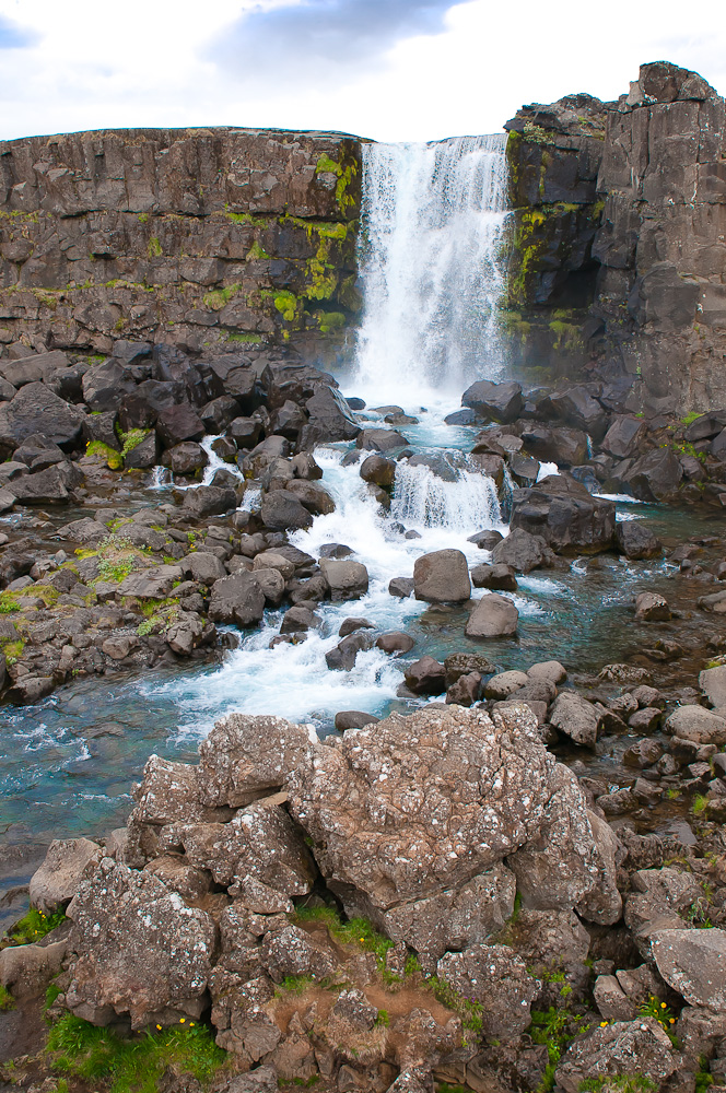 Oxararfoss​, Thingvelli​r National Park