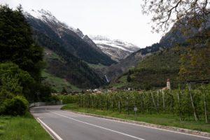 Partschinser wasserfall, Italy