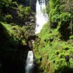 Pistyll-rhaeadr waterfall