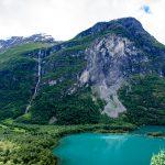 Ramnefjellfossen or Ramnefjellsfossen