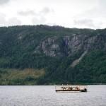 Rysefossen, Byglandsfjord, Aust Agder