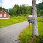 Sanddalsfossen-sign