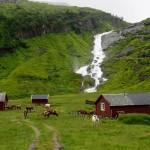 Sendefossen, Kvassdalen-Myrkdalen, Hordaland
