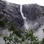 Skytjefossen, Simadalen/Eidfjord, Hordaland