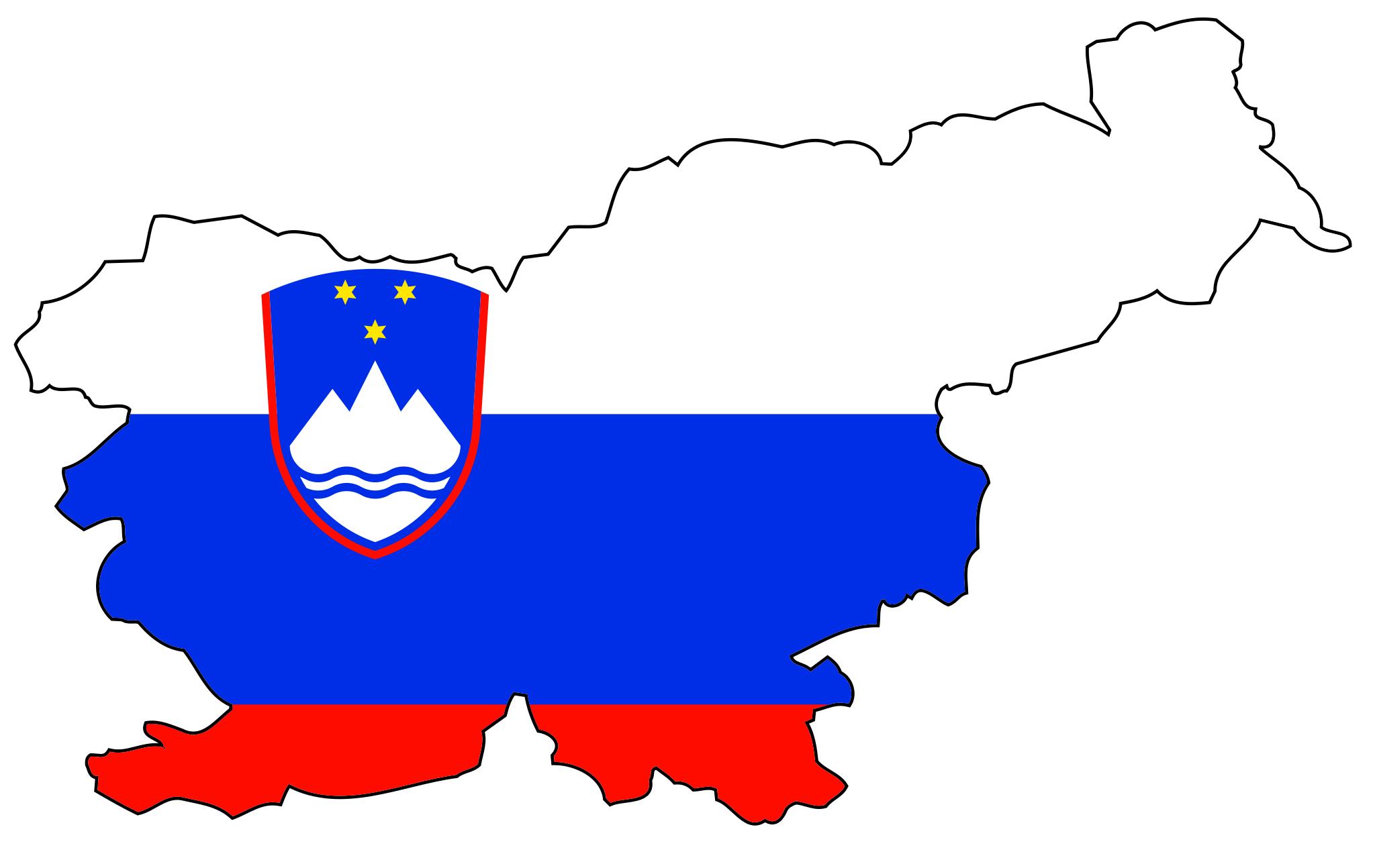 Waterfalls in Slovenia