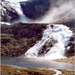 Søtefossen - one of the tallest waterfalls in the Husedalen