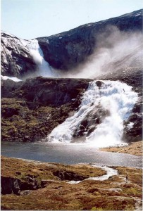 Søtefossen - one of the tallest waterfalls in the Husedalen