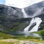 Sotefossen, Husedalen/Kinsarvik, Hordaland