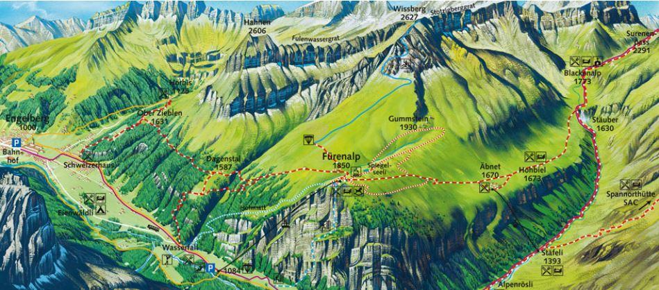 Stauber wasserfall-map