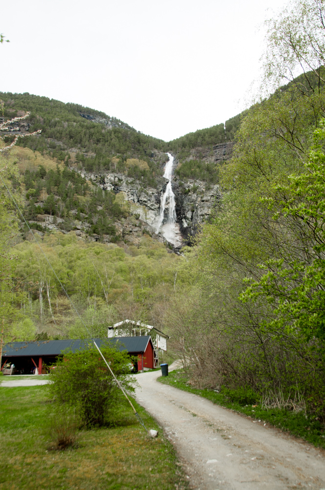 Stodnafossen, Stödnafossen, Stødnafossen