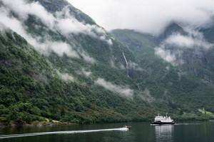Styvifossen, Naeroyfjord, Sogn og Fjordane
