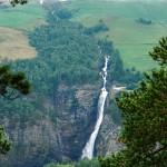 Waterfall in Norway: Svøufallet