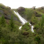 Waterfall in Iceland: Systrafoss