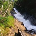 Waterfall in Austria: Simmenfalle