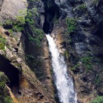 Waterfall in Switzerland: Cascade de la Tana